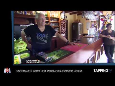 Cauchemar en cuisine : une candidate en a gros sur le cœur (Vidéo)