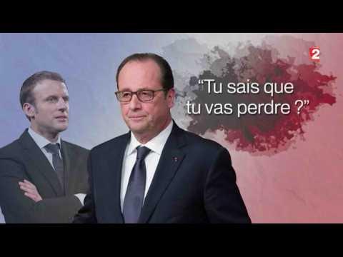 "Hollande à Macron : ""Tu sais que tu vas perdre ?"" - ZAPPING ACTU DU 19/01/2017"