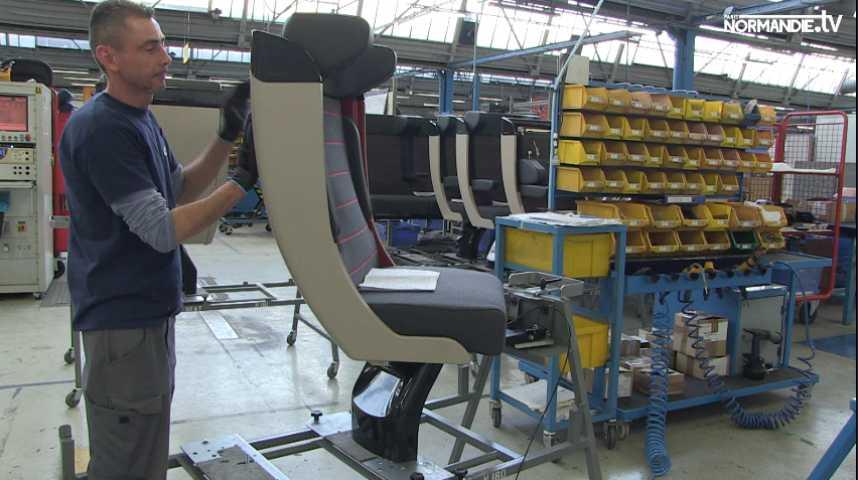 A Evreux, Compin fournira les sièges des futurs trains normands