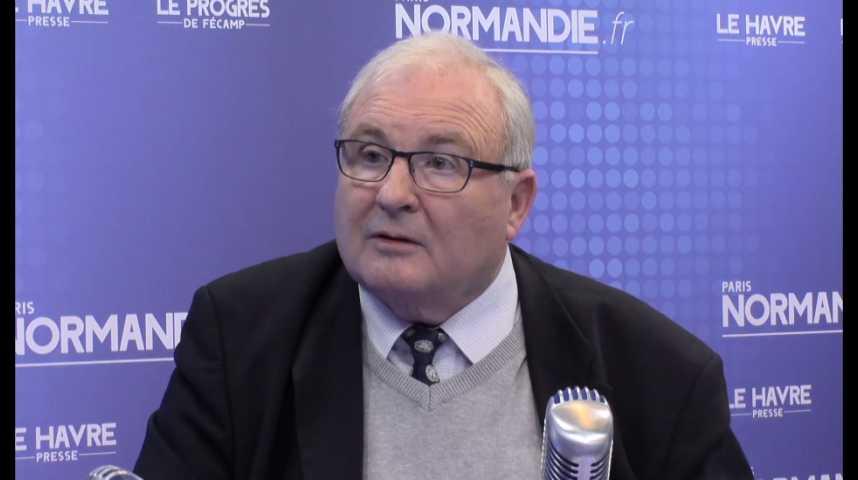 Gérard Lahon, président de l'Ordre régional des médecins de Haute-Normandie