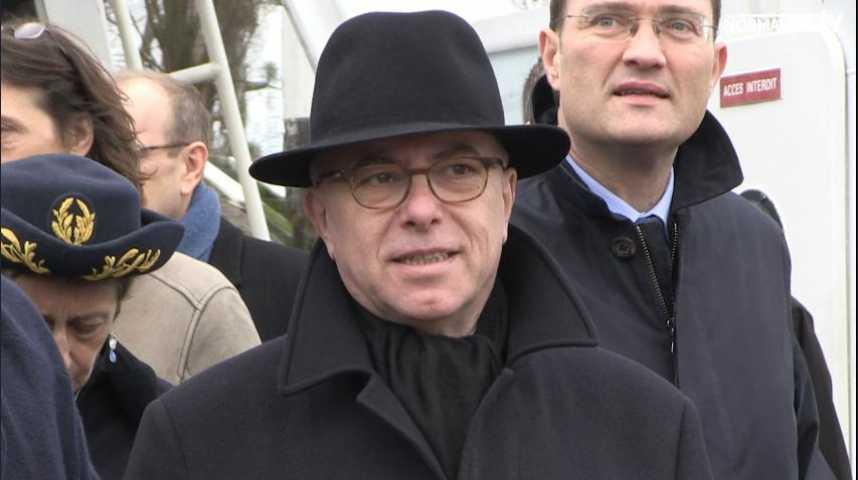 Bernard Cazeneuve en Normandie...encore !