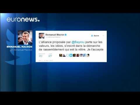 Présidentielle 2017: Bayrou se rallie à Macron