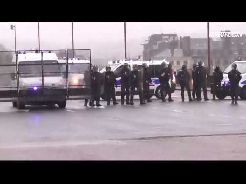Une quatrième manifestation mouvementée à Rouen