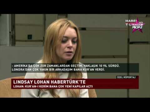 Lindsay Lohan discriminée, elle raconte sa découverte du Coran (VIDEO)