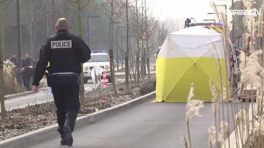 Oissel : un décès dans une collision camion-piéton
