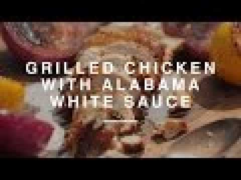 DJ BBQ's Grilled Chicken with Alabama White Sauce + Hersha Patel | Wild Dish