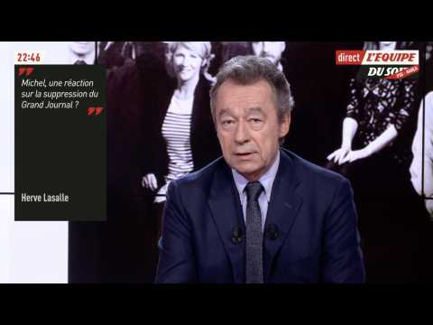 Michel Denisot évoque la fin du Grand journal - ZAPPING TÉLÉ DU 14/02/2017