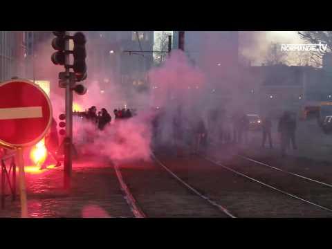 Affaire Théo : entre 100 et 150 jeunes manifestent dans un climat de tension à Rouen