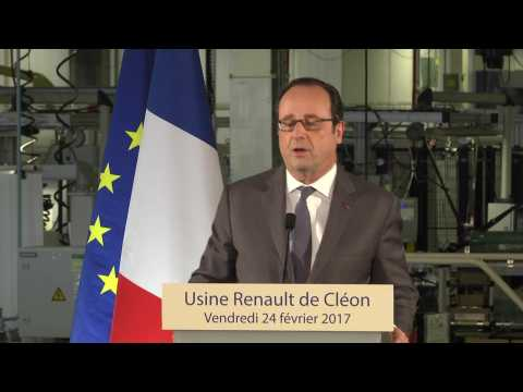 Hollande en Seine-Maritime