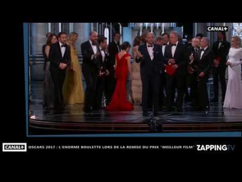 Oscars 2017 : La La Land sacré meilleur film par erreur, l'énorme boulette de la soirée (Vidéo)