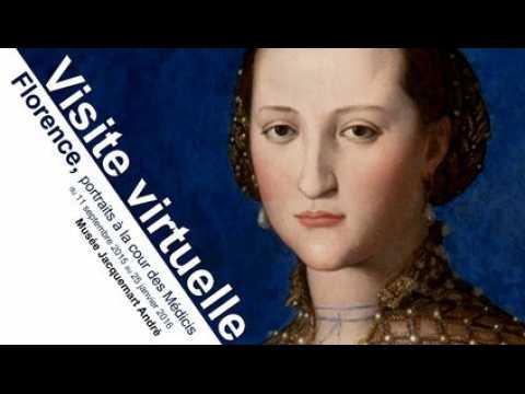 Visite vituelle : Florence, portraits à la cour des Médicis