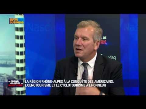 La région Rhône-Alpes à la conquête des américains - 26/09