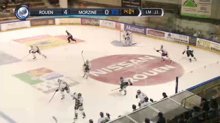 100% Dragons - Match - Rouen - Morzine - Saison 2
