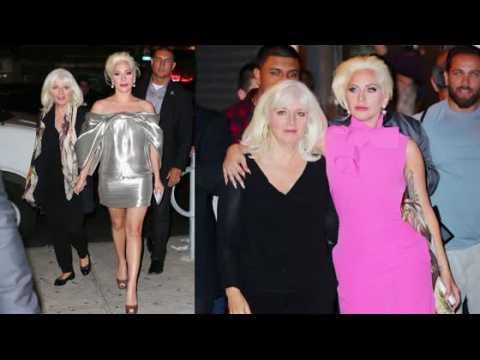 Lady Gaga emmène sa maman dîner à New York