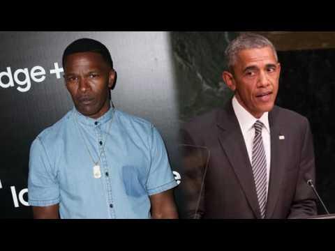 Vous pouvez rencontrer Le Président Obama et Jamie Foxx pour 10 000 dollars