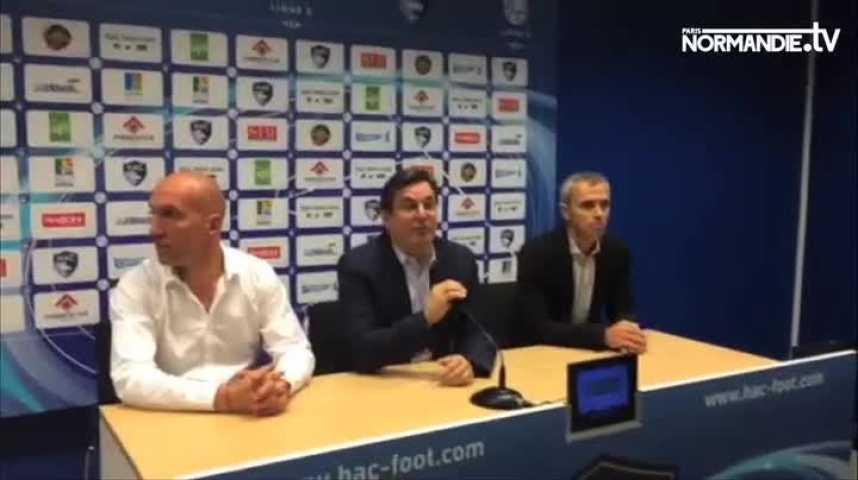 HAC : L'entraîneur a été remercié.
