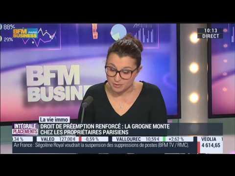 Marie coeurderoy les propri taires parisiens sont contre - Le droit de preemption ...