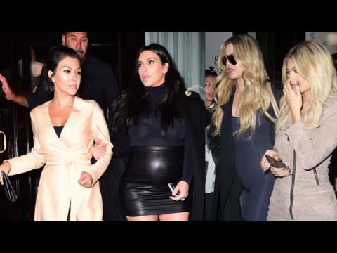 Les sœurs Kardashian vont dîner à New York
