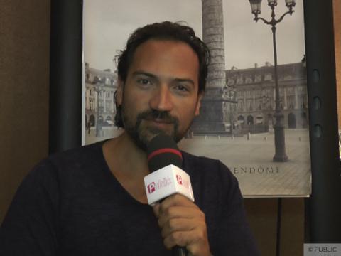"""Exclu vidéo : Davide Esposito : """"Je suis quelqu'un de passionné par la vie"""""""