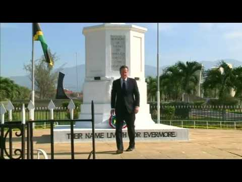 UK's Cameron says no reparations for slave trade