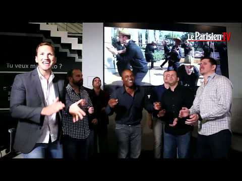 Live du Parisien : Straight No Chaser chante « Happy »