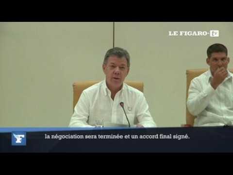 Colombie : la paix avec les Farc sera signée d'ici 6 mois