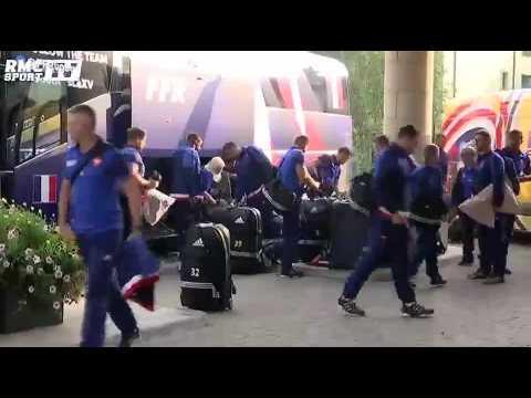 Mondial : le XV de France est à Cardiff