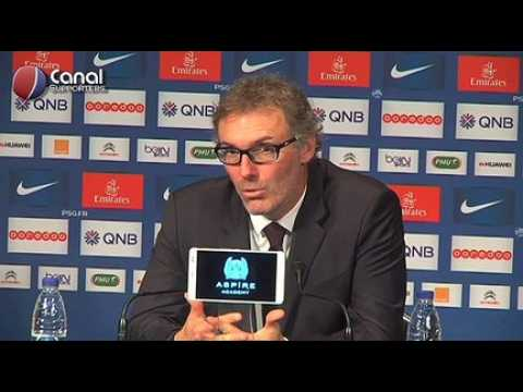 PSG / OM - La confe?rence d'apre?s-match de Laurent Blanc