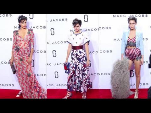 Les mannequins les plus tendance au défilé de Marc Jacobs