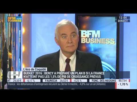 Patrick Coquidé: Bercy a un plan B pour le budget 2016 - 13/10