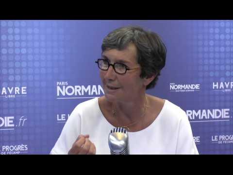 Valérie Fourneyron, députée socialiste de la Seine-Maritime et ancienne ministre des Sports