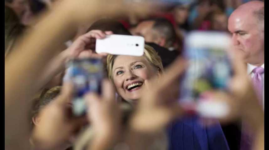 """Illustration pour la vidéo """"Hillary 2016"""", l'appli mobile pour attraper des militants démocrates"""