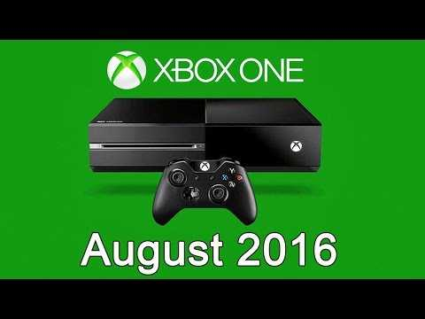 XBOX ONE Free Games - August 2016