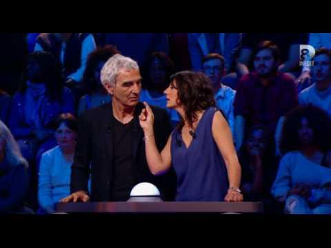 Estelle Denis et Raymond Domenech coquins dans Guess my age ! - ZAPPING TÉLÉ DU 20/07/2016 par lezapping