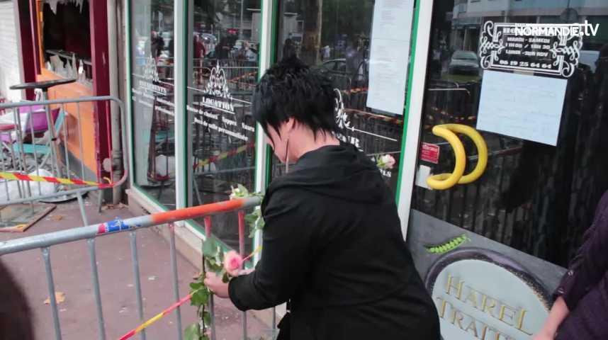 Rouen : l'émotion après l'incendie qui a fait treize victimes