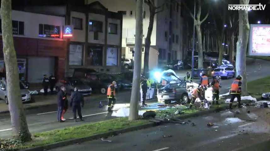 Accident mortel dans le centre de Rouen