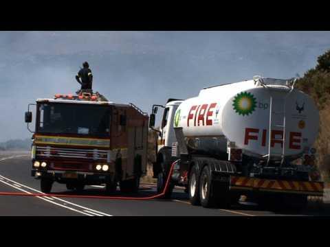 AfSud: des incendies ravagent la région autour du Cap