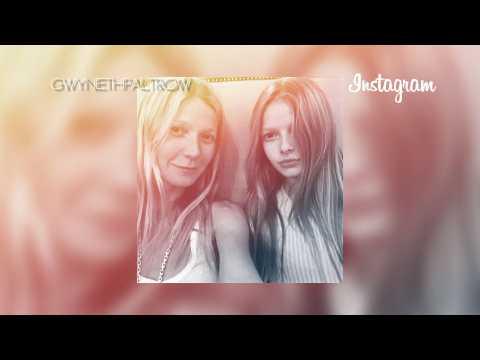 Gwyneth Paltrow shares selfie of her look alike daughter