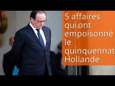 5 affaires qui ont empoisonné le quinquennat Hollande