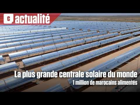 Une centrale solaire pour alimenter 1 million de Marocains