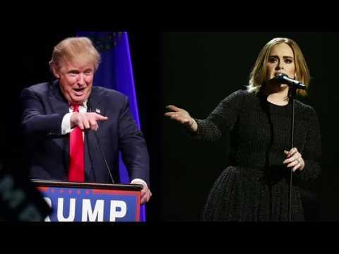 Adele n'a pas donné la permission à Donald Trump d'utiliser ses chansons