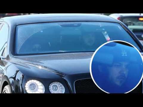 Rob Kardashian joue au chauffeur pour Blac Chyna