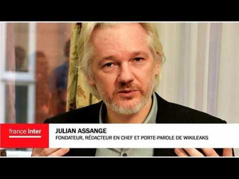 """Julian Assange : """"Les relations entre la France et les Etats-Unis se sont révélées trop fortes pour Hollande"""""""