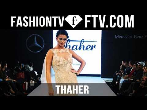 Thaher at Mercedes Benz Fashion Week Doha 2015 | FTV.com