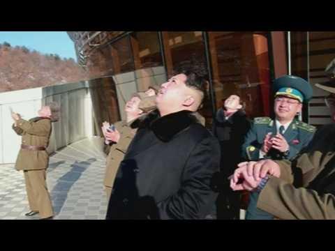 North Korea launches long-range rocket 'carrying satellite'