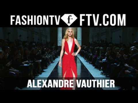 Alexandre Vauthier SS16 at Paris Haute Couture Week | FTV.com