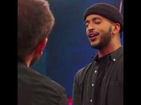 The Voice  : Cover : Tu m'oublieras – Larusso – Par Slimane  - TF1