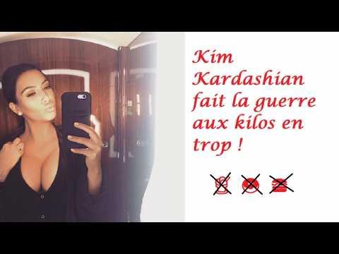 Kim Kardashian et son régime drastique : la jeune maman a déjà perdu 13 kilos