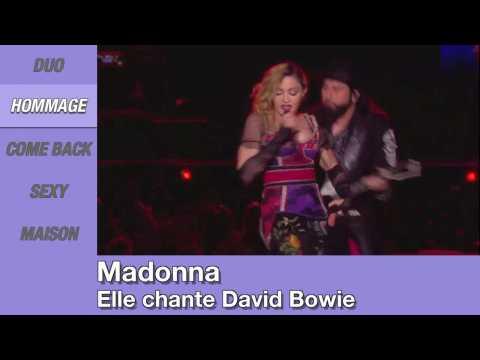 Zap People: Lady Gaga complètement nue, Madonna rend hommage à David Bowie, Adele et James Corden chantent Hello en karaoké