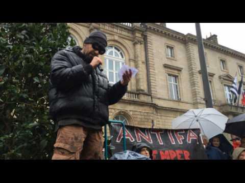 Le collectif antifasciste manifeste pour une Bretagne ouverte et solidaire